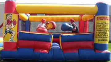 Inflatable Bouncy Boxing Ring High School Post Prom Ideas