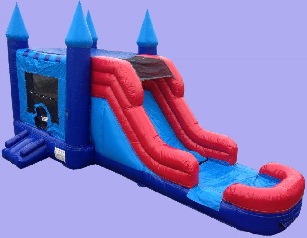 Castle Inflatable Water Slide Bounce Combo