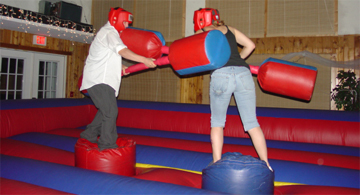 Inflatable Joust Game For High School Post Proms
