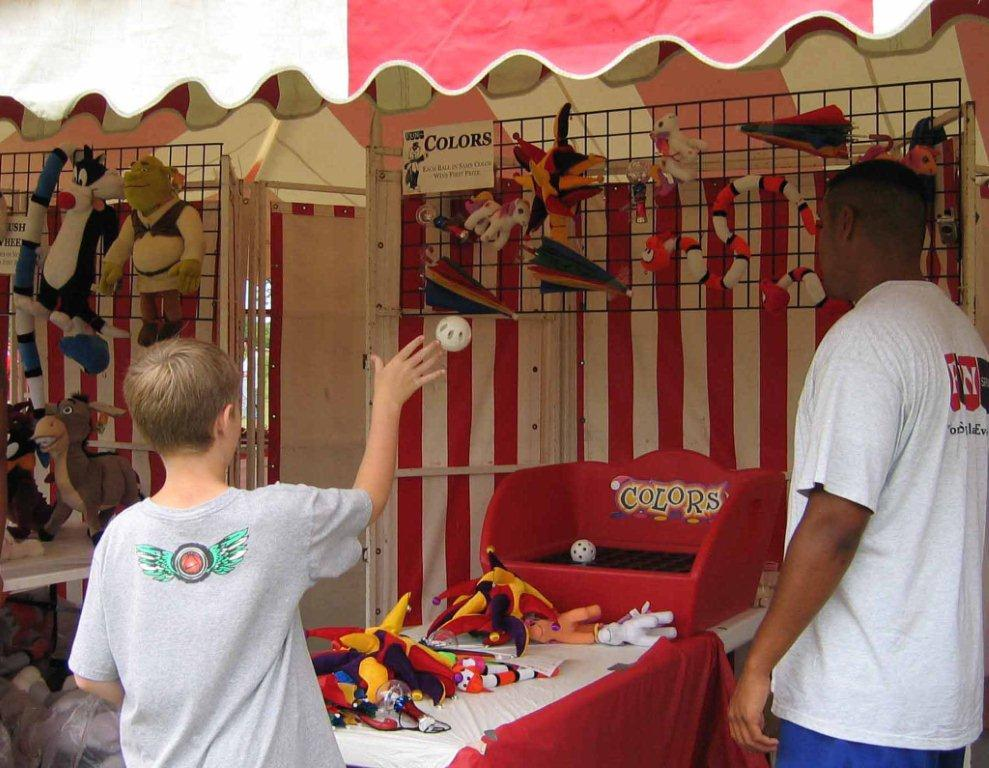 Fun Events Company Picnics midway games event planning