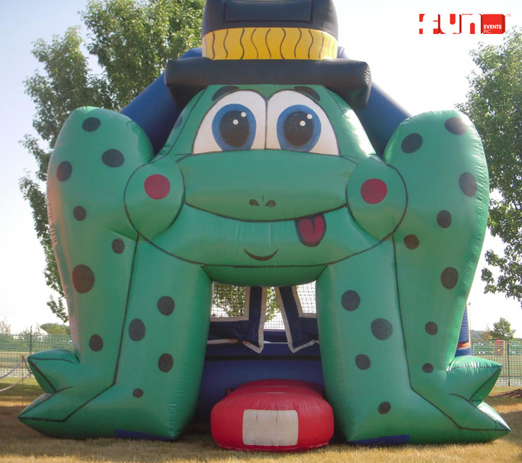Jump Frog Bounce House Inflatable Rental Party Rentals