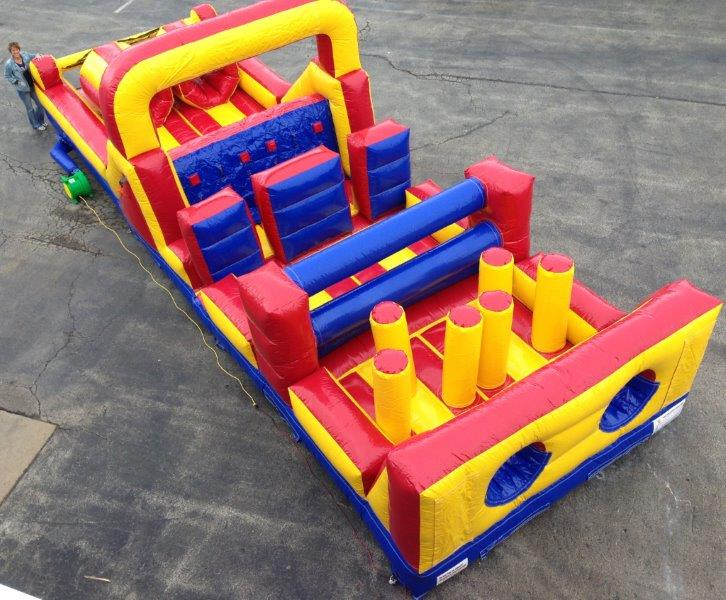 Inflatable Sprinter 38 Ft. Obstacle Course