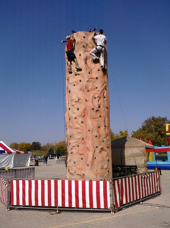 Rock Climbing Wall Rentals By Fun Events