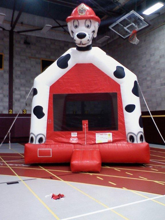 Dalmatian Fire Fighter Dog Bounce