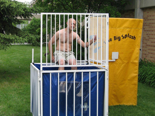 Church Festival & Event Dunk Tank Rental