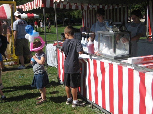 Church Festivals Concessions Popcorn Cotton Candy Snow Cone