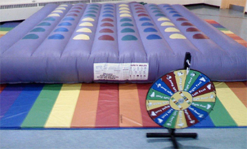 Inflatable Twister Activity For High School Post Proms