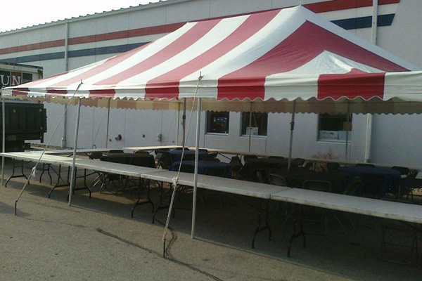 Tent, Tables, Chairs Rental Milwaukee