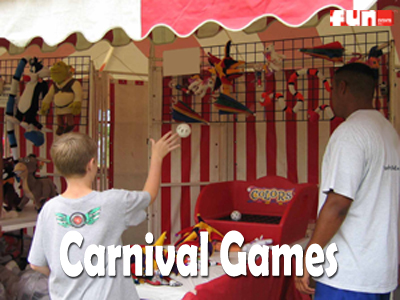 Carnival Midway Games Rental