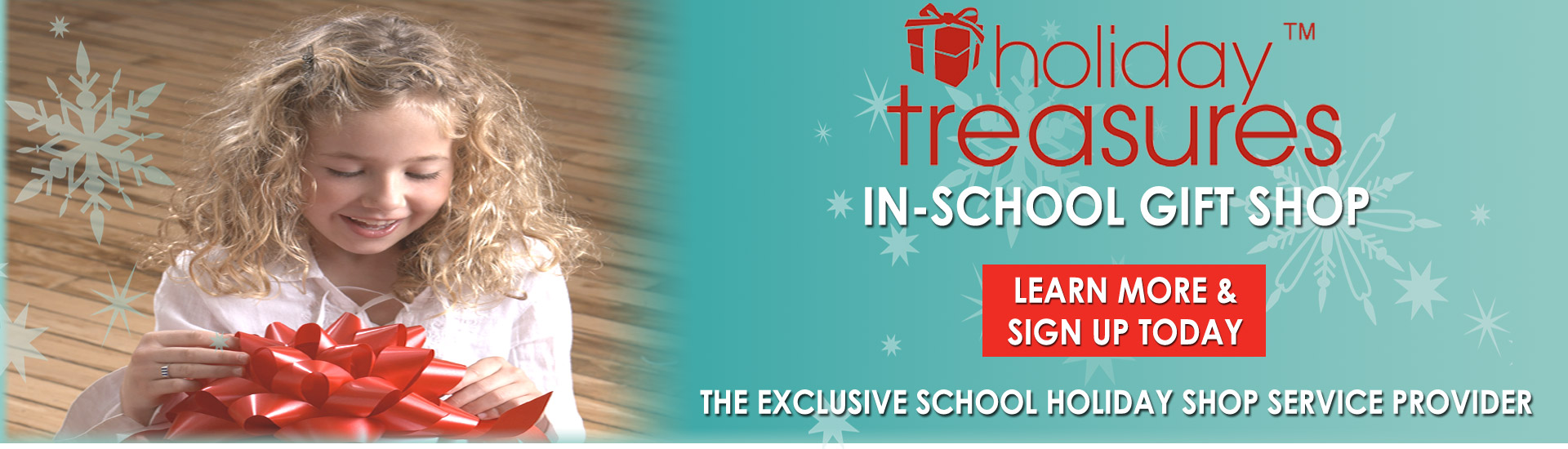 Holiday Treasures Gift Shop - School Holiday Shop