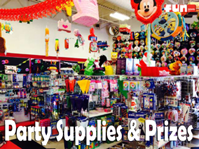Party Supplies & Prizes