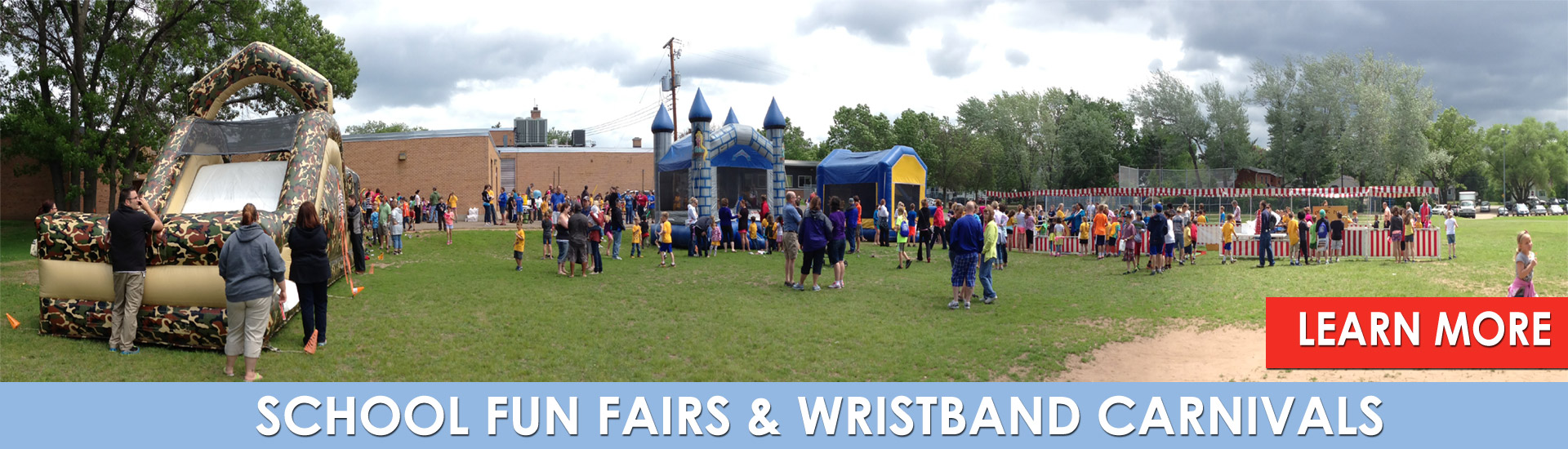 School Fun Fairs - Wristband Carnivals by Fun Events, Inc.