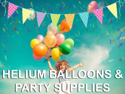 Helium Balloons & Party Supplies