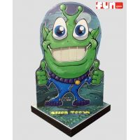 Alien Teeth Toss Carnival Game