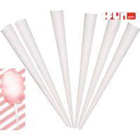 Cotton Candy - Paper Cone Sticks