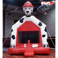Dalmatian Firehouse Dog - Inflatable Bounce House