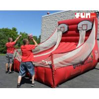 Inflatable Basketball Free Throw Game