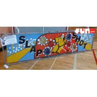 Large Slap Shot Hockey Fun Midway Carnival Game Rental