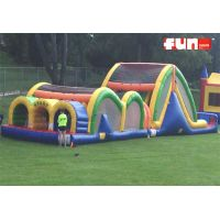 Obstacle Course Inflatable - Mega Thrill Triple Lane