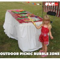 Outdoor Picnic Bubbles Zone