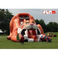 Sabre Tooth Tiger Slide Inflatable