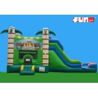 Tropical Water Bounce Inflatable Combo