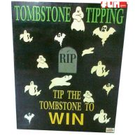 Tombstone Tipping Midway Carnival Game Rental