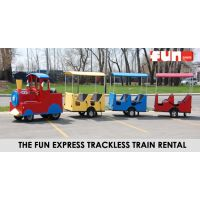 Trackless Train Rental - The Fun Express