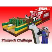 Obstacle Course Inflatable - Western Stampede