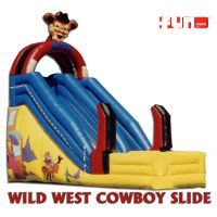 Slide Inflatable - Wild West Cowboy