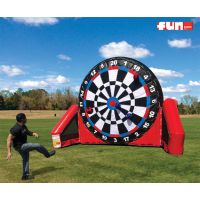 Soccer Kick Inflatable Dart Board