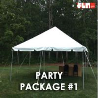 Party Package #1 - Backyard