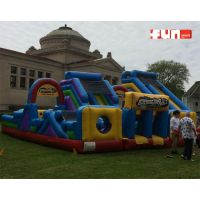 Obstacle Course Inflatable - Adrenaline Rush