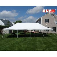 Party Tent Rental - Elite White - 20 x 40 Wedding Tent