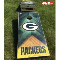 Baggo Bean Bag Toss - Green Bay Packers