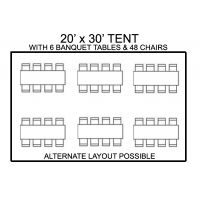 20' x 30' Package #1 - $395