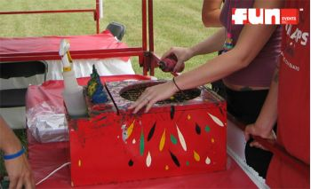 Spin Art Paint Machine Rental