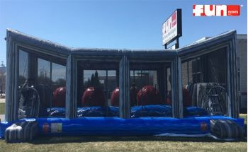 The Big Baller - Wipe Out Warrior Dash Challenge Inflatable