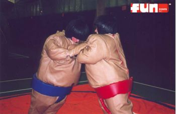 Sumo Wresting Suits & Ring Rental