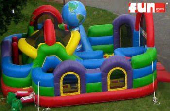 Inflatable Wacky World Fun Play Area