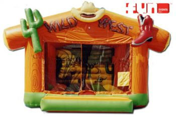 Wild Western Party Bounce
