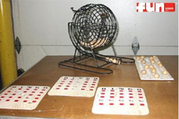 Bingo Game And Cards Rental