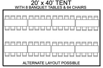 20' x 40' Package #1 - $495