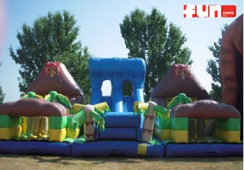 Tropical Theme Party Rental - Obstacle Course