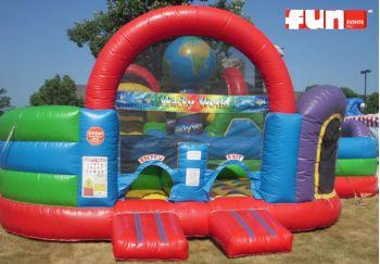 Wacky World Inflatable Rental