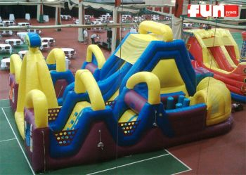 Chaos Inflatable Obstacle Rental