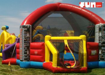 Defender Dome Inflatable Dodge Ball Arena