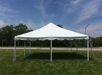 20 x 20 White Party Tent