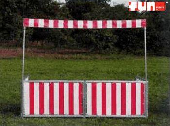 Booth Hinge 8'L x 5'W Rental