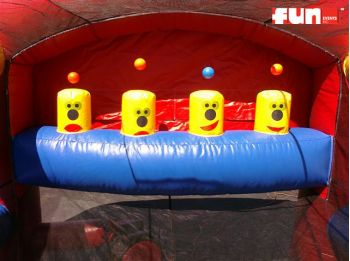 Inflatable Airshot Challenge - Fun Inflatable